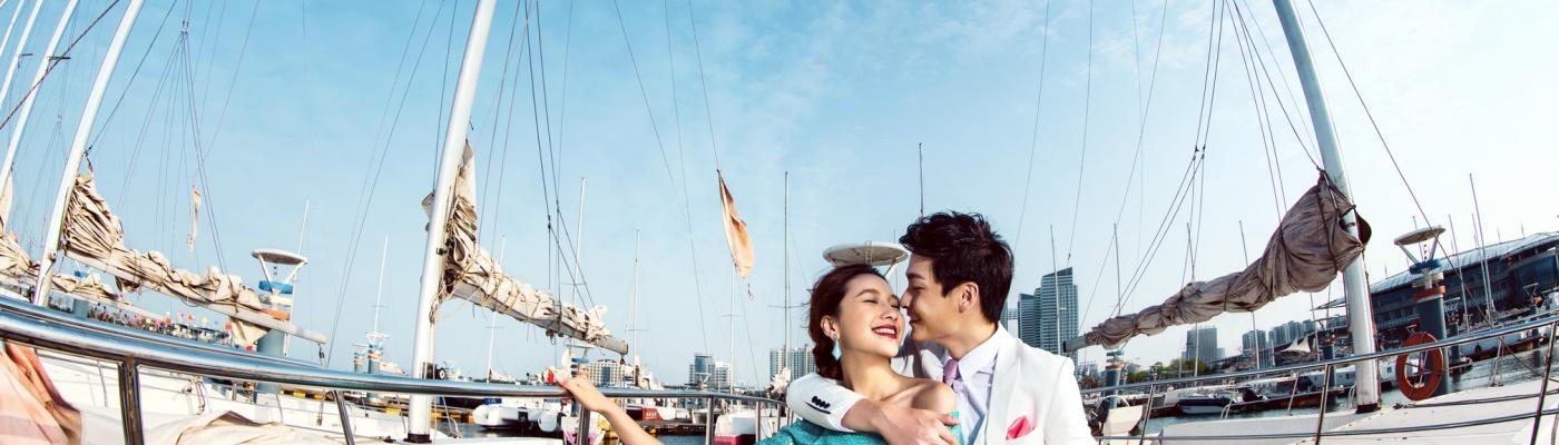 台灣拍婚紗-淡水婚紗照